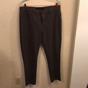 Calvin Klein Jeans brown cotton/ polyester pants